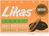 Likas Original Papaya Skin Whitening Herbal Soap By Trinidad Cosmetics Laboratory - 135