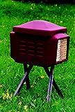 Naturschutzprodukt Insekten-Kombi Gehäuse aus Holzbeton