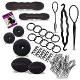 Haar-Accessoires Set für Frisuren Haar Accessoires Damen Mädchen Haar Styling Tool