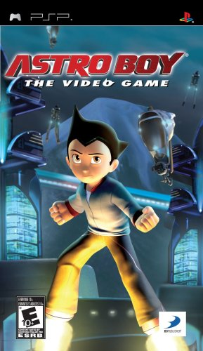 games for psps Astro Boy: The Video Game - Sony PSP