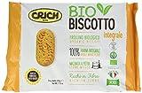 Crich Bio Biscotti con 100% Farina Integrale, 220 gr (contiene 10 pacchettini da 22 gr)