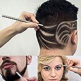 Dedicate Hair Shaving Pen-Professional Magic Hair Engraving Pen Scissors Shavings Eyebrows Razor Carve Shears Tattoo Barber Hairdressing Scissors