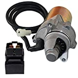 Caltric Starter and Relay Solenoid Compatible With Suzuki LT80 Quadsport 80 2X4 1987-2006