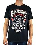 Gaz Singe Garage Blood, Sweat and Beers T-Shirt Homme Bougie d'allumage