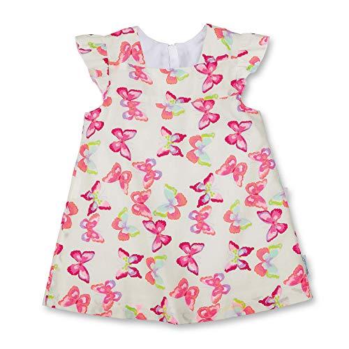 Sterntaler Baby - Mädchen Robe Bébé Kleid, Weiß (Weiss 500), 12-18 Monate (Herstellergröße: 86)