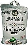 Cook Zest ZABARDAST Special Basmati Rice, 10 Lb Bag