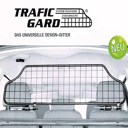 TierXXL.de Kleinmetall TraficGard geeignet für Mercedes C-Klasse T-Modell Kombi S203 Bj: 2001-2007, Hundegitter Trenngitter Gepäckgitter (TGN-M)