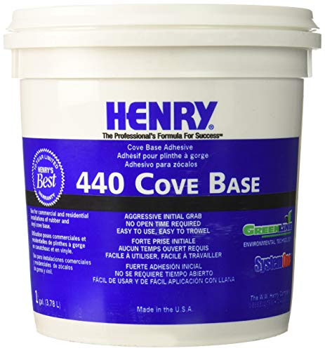 Henry, WW Company 12111 12111 GAL Cove Base Adhesive, Pack of 2