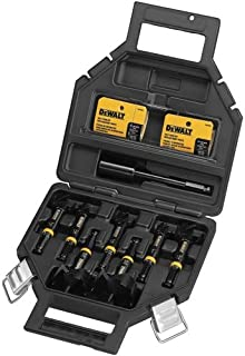 DEWALT Drill Bit Set, Self-Feed, 7/16-Inch Shank, 8-Piece (DW1649)