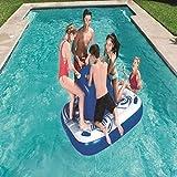 Piscina sobre el Suelo 2019 Nuevo Juguete Flotante de Isla Inflable en el Agua Adulto Flotante en la Cama Cama Inflable en el Agua Juguete de Piscina Flotante