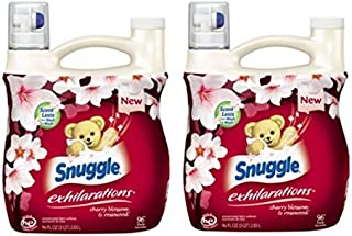 Snuggle Exhilarations Cherry Blossom & Rosewood Concentrated Fabric Softener, 96 fl oz (pack of 2)