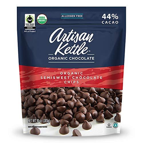 Artisan Kettle Organic Semisweet Chocolate Chips, 10 Oz