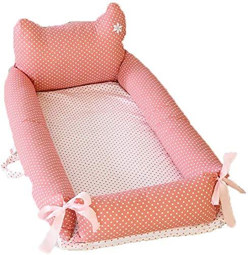YYhkeby Cuna plegable de algodón de doble capa, colchón biónico portátil multifuncional para bebé recién nacido Nes. Jialele (tamaño: E)