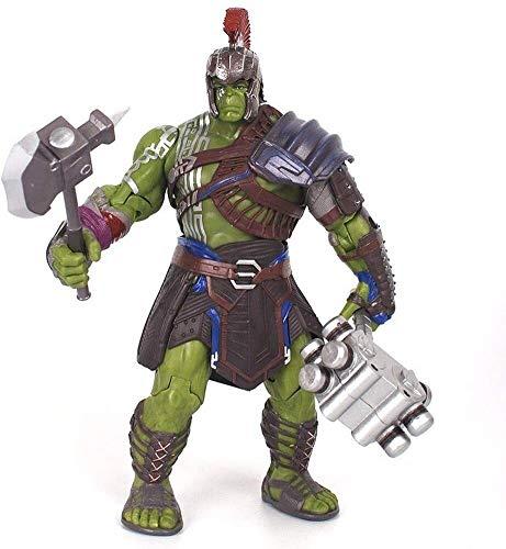 QI-shanping POP Hulk Hulk bewegen Puppe Hand Marvel Thor 3 Hand Spielzeug Statue Modell Desktop-Dekoration, PVC Sammler Fertigkeit-Dekoration-Geschenk über 20CM