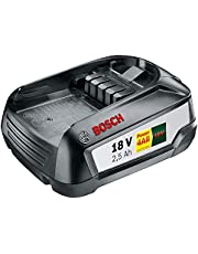 Bosch 18V vervangende accu PBA 18 (18 volt systeem, 2,5 Ah)