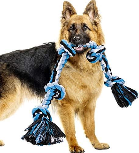BMAG Dog Rope Toys for Aggressive Chewers Interactive Heavy Duty Dog Toys for Medium Large Dogs product image