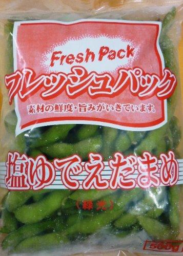 塩ゆでえだまめ500g【業務用冷凍食品】