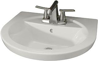 Amazon Com Petite Pedestal Sinks Bathroom Sinks Tools Home