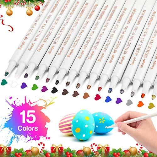 Easony Mädchen Geschenke 5 6 7 8 9 10-15 Jahre,Acrylstifte für Steine Wasserfest Spielzeug ab 4-12 Jahren für Mädchen Acrylstifte Marker Stifte Geschenk für Teenager Mädchen