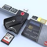 Lettore di Carta Identità Elettronica CIE Smart Card Reader per Nazionale e Regionale dei Servizi CNS CRS, Tessera Sanitaria, Codice Fiscale TSN, attivazione SPID, Firma Digitale, fascicolo Sanitario