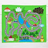 Best MOMO Car Mats - Personalized Blanket-Road Play Mat, Map Blanket Toddler Boy Review