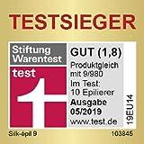Braun Silk-épil 9 9/890 SensoSmart Epilierer, mit Andruckkontrolle, Epiliergerät mit 7 Extras, rosegold - 4
