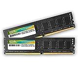シリコンパワー デスクトップPC用メモリ DDR4-2666(PC4-21300) 16GB×2枚 288Pin 1.2V CL19 永久保証 SP032GBLFU266B22