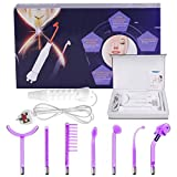 7pcs High Frequency Facial Machine, Yofuly Portable Handheld High Frequency Wand Skin Remover