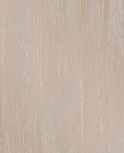 Decorline 2735-23346 Gold Enchanted Woodgrain Wallpaper