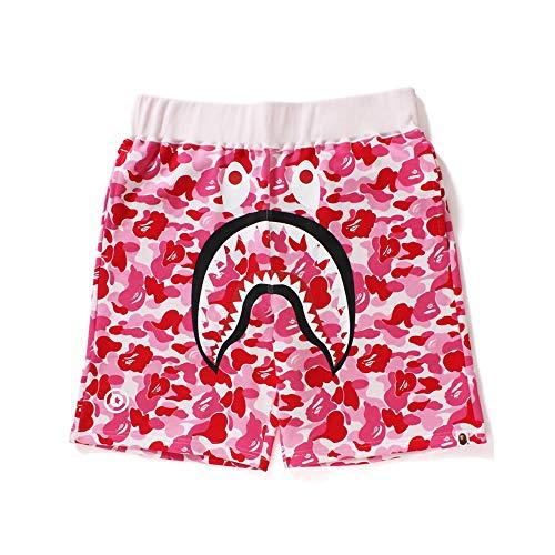 Sty-Lish Blood Shark Youth Boys  Shorts Summer Beach Casual Pants Swim Trunk Quick Dryxl White