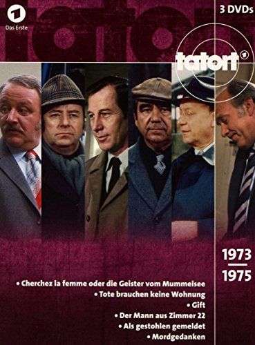 Tatort - 70er Box, Vol. 2 (1973-1975) (3 DVDs)