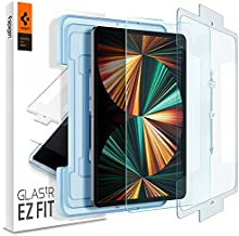 Spigen Tempered Glass Screen Protector [Glas.tR EZ FIT] Designed for iPad Pro 12.9 inch (2021/2020/2018)