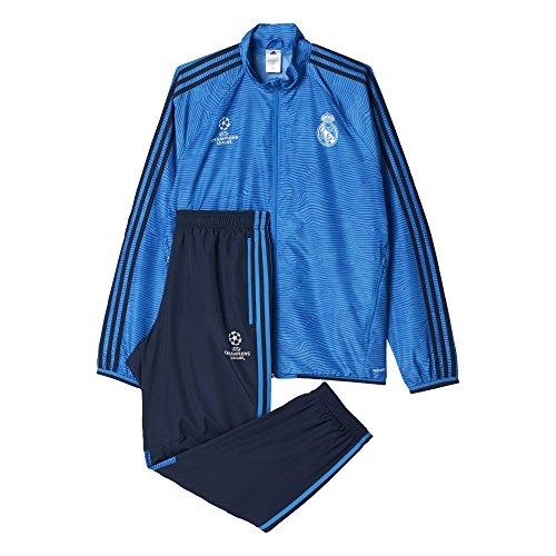 adidas Real Madrid UCL Präsentationsanzug-Blau Chándal, Hombre