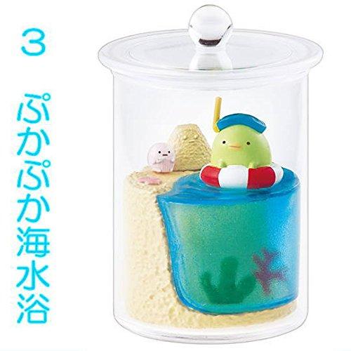 すみっコぐらし なかよしすみっコテラリウム [3.ぷかぷか海水浴 ぺんぎん?](単品)