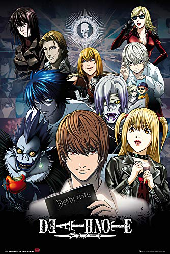 """Price comparison product image POSTER STOP ONLINE Death Note - Manga / Anime TV Show Poster / Print (Character Collage) (Size 24"""" x 36"""")"""
