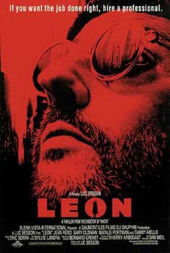 Leon der Profi Poster (68cm x 102cm) + Ü-Poster