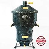 Churrasqueira a Bafo Gás ou Carvão Apolo 8 Esmaltada - Weber