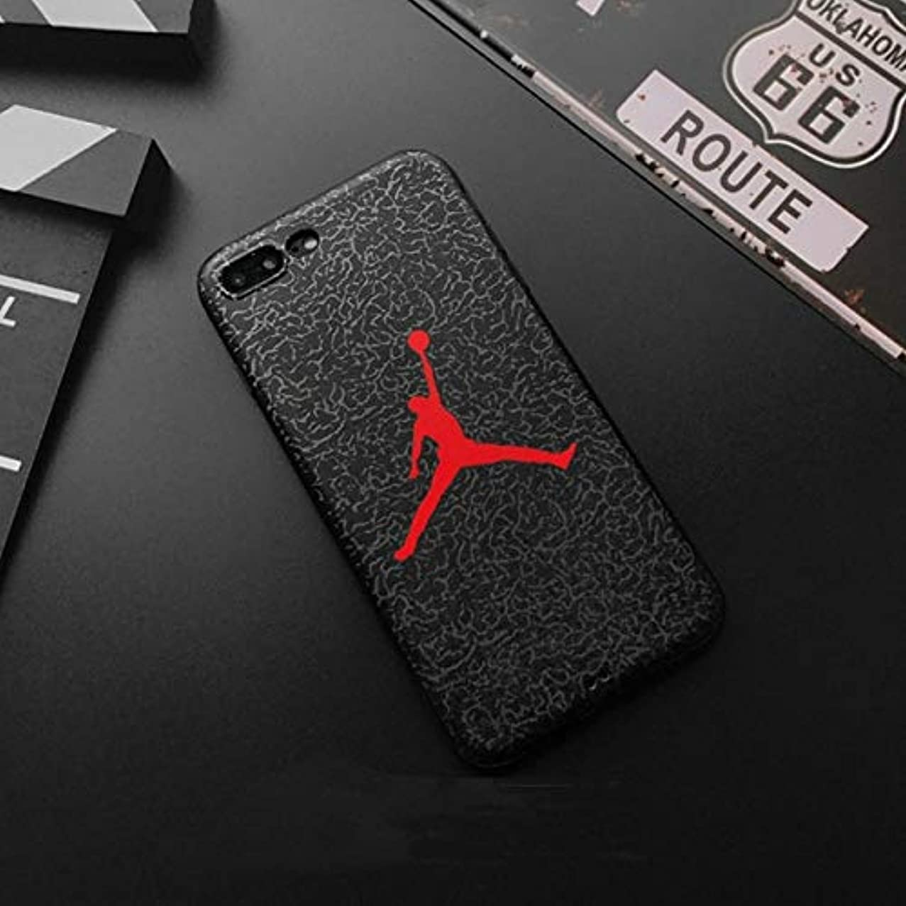 OTADO Hot Jump Jordan 3D Emboss Soft Silicon Cover case for iPhone 5 5S SE 6 6Plus S 7 7 Plus 8 8Plus X XS XR MAX Fly Man Phone Cases