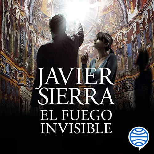 Diseño de la portada del título El fuego invisible