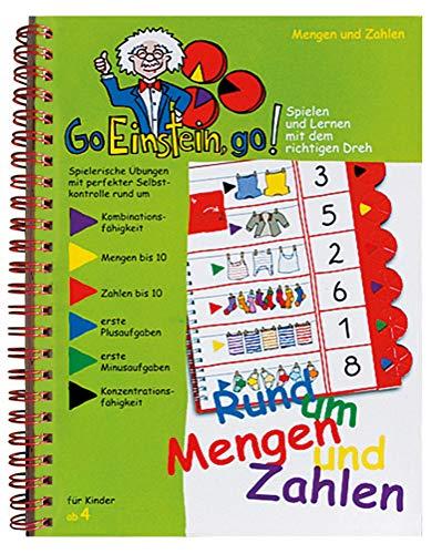 Go, Einstein, go!: Übungsbuch: Rund um Mengen und Zahlen: Mengen bis 10 und bis 20, erstes Rechnen (+/-)