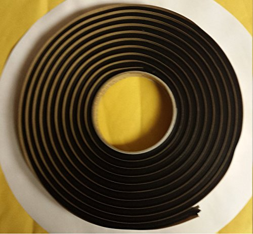 3M QTY1 Butyl Tape 1/4' x15ft Great Compatible with Marine Boats Weatherproof