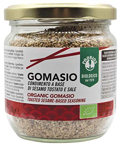 Probios Gomasio Bio - Senza Glutine- Confezione da 6 x 200 g