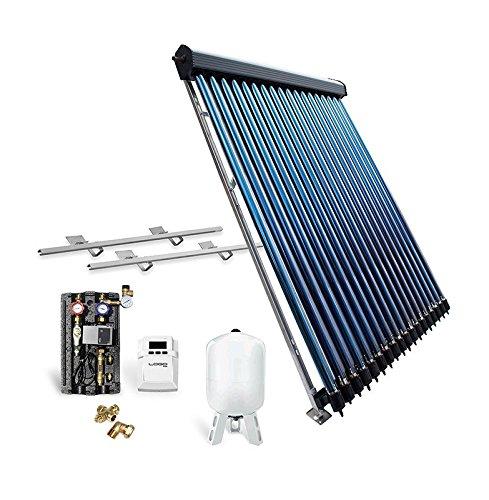 Solar-Paket Röhrenkollektor HP30 für Schrägdach, 4,89 m²