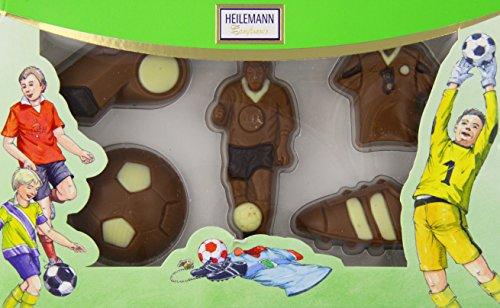 Heilemann Schoko-Fußballpackung Edelvollmilch, 1er Pack (1 x 100 g)
