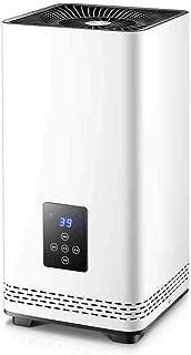 WLJQNQ Radiador eléctrico, Cuerpo de Acero, convección eléctrica de 2200 vatios con termostato, disipador de Calor y 3 configuraciones de Calor, Temperatura Ajustable, Calentador eléctrico Blanco