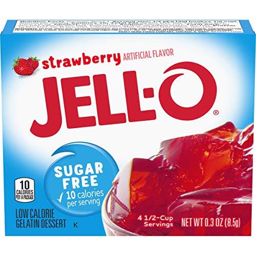 Jell-O Sugar Free Strawberry (8,5g)