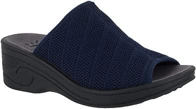 Easy Street Women's, Airy Mid Heel Wedge Sandals