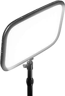 Elgato Key Light - Panel LED de Estudio Profesional con 2800 Lúmenes, Color Ajustable, Controlable por Aplicación, para PC y Mac, Soporte de Escritorio de Metal, Color Negro/Blanco