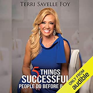 5 Things Successful People Do Before 8 A.M. audiobook cover art