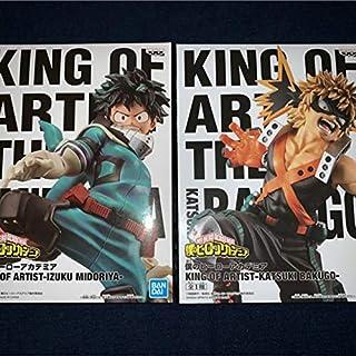 僕のヒーローアカデミア KING OF ARTIST IZUKU MIDORIYA + KATSUKI BAKUGO セット 緑谷出久 + 爆豪勝己